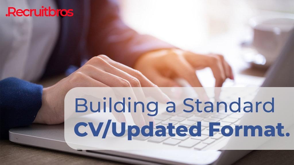 Building a standard CV