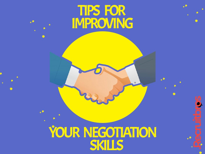 Tips for improving your negotiating skills
