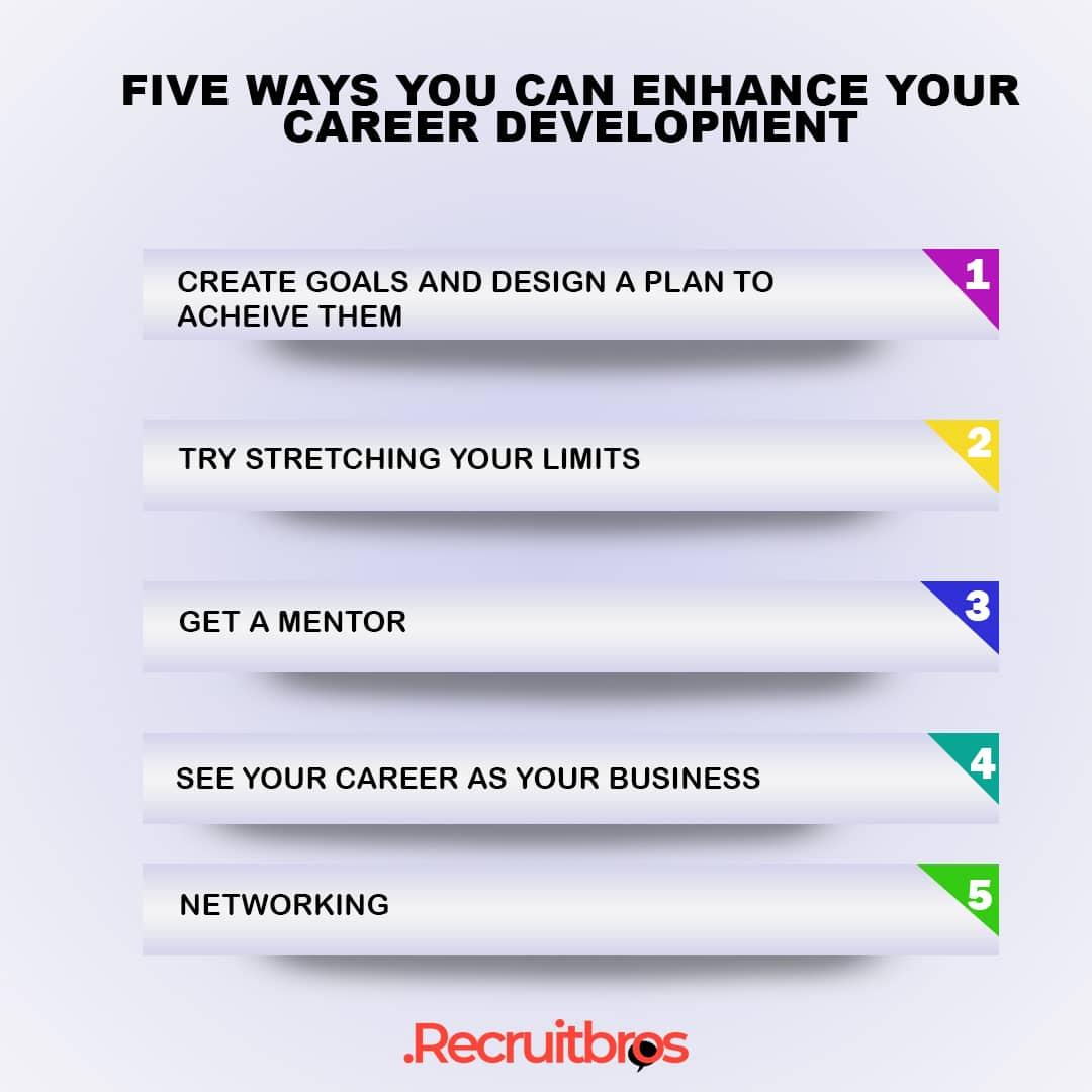 Ways You Can Enhance Your Career Development