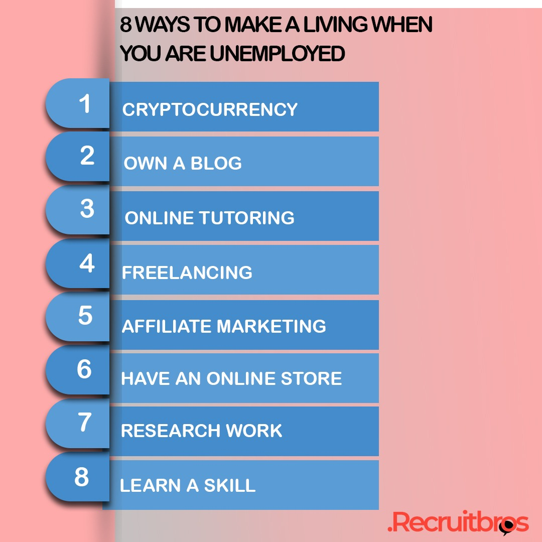Ways to Make A Living When You Are Unemployed
