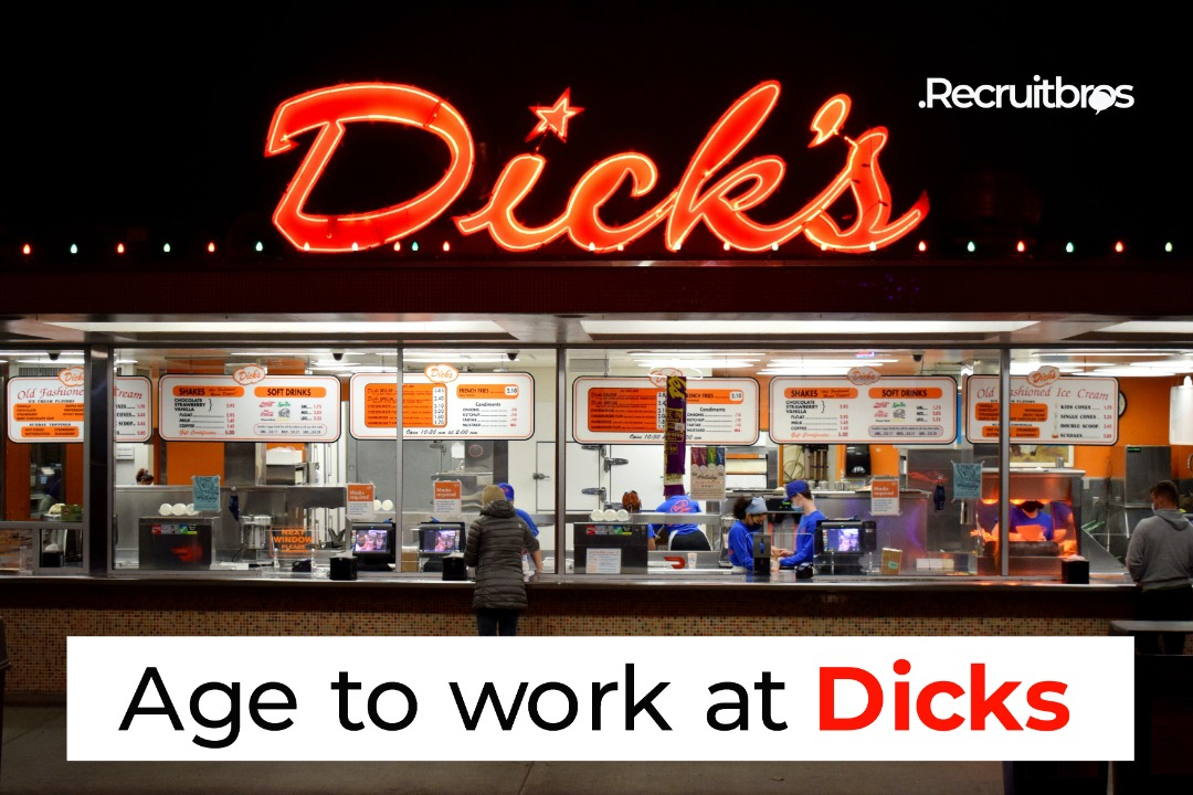 Age to work at dicks