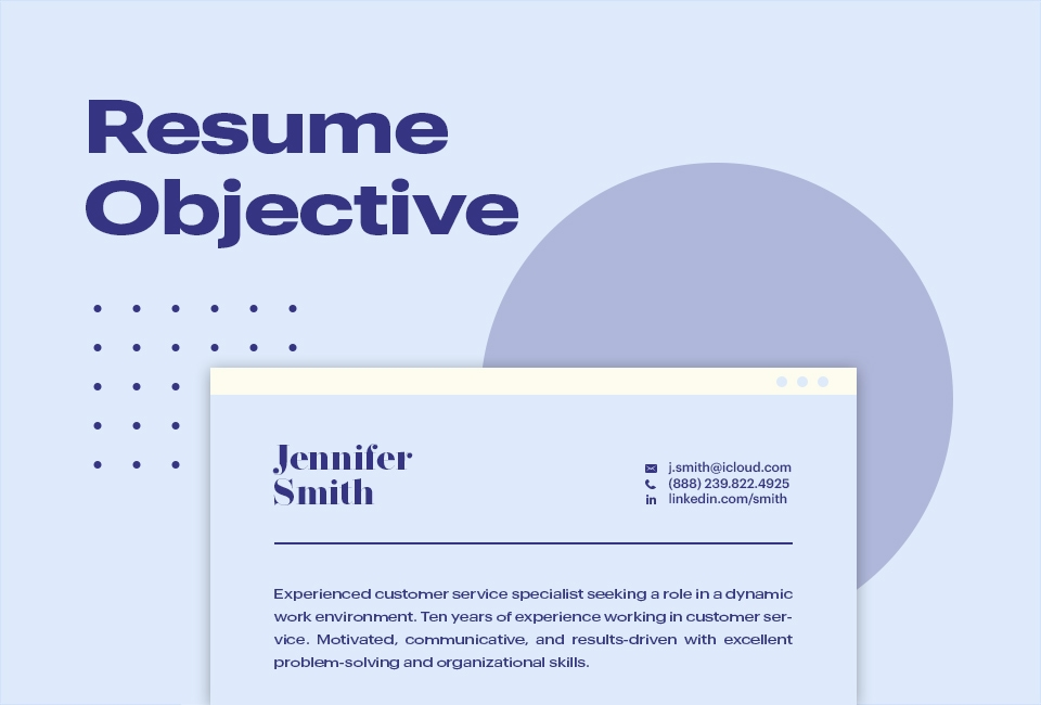 the goal of a resume