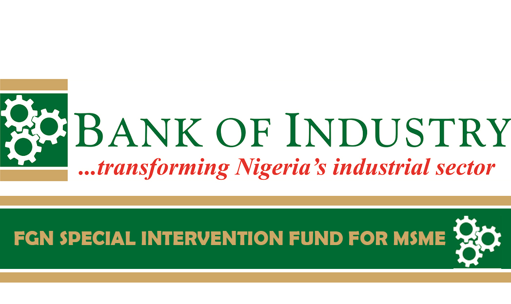 FGN SPECIAL INTERVENTION FUND FOR MSME