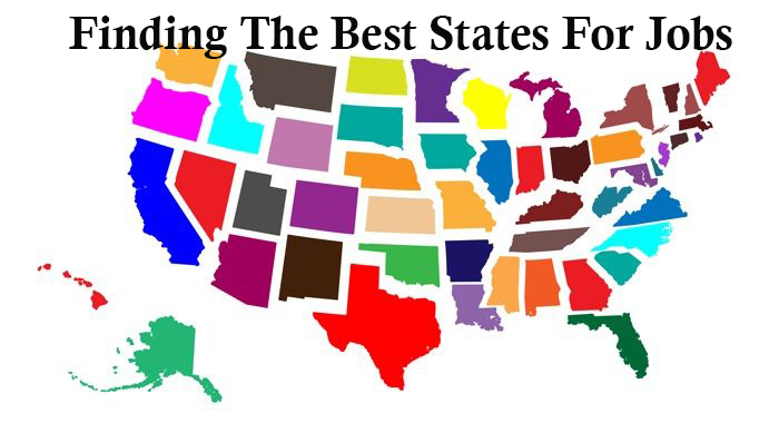 Finding The Best States For Jobs